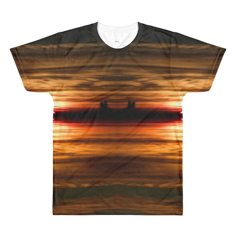 Sunset - Colorado Photography - All-Over Printed T-Shirt
