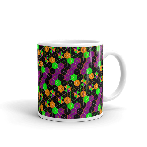 Atomic Flower - Mug made in the USA