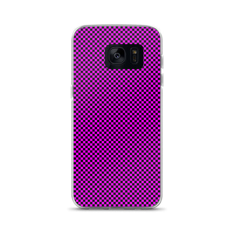 Checkered Pink - Samsung Phone Case
