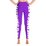 Wednesday Yoga Leggings (Purple w/ Pocket)