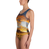 Sunflower Sunset One-Piece Swimsuit