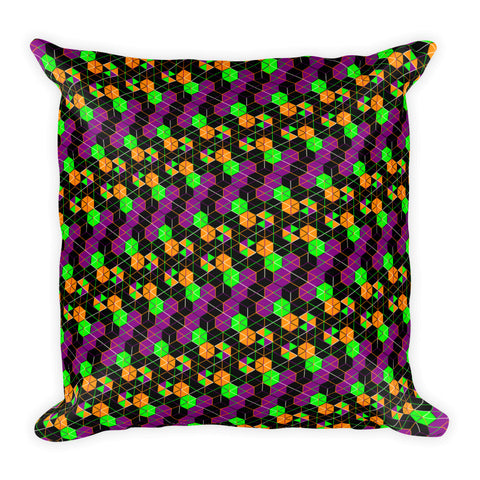 HexaFlow - Square Pillow