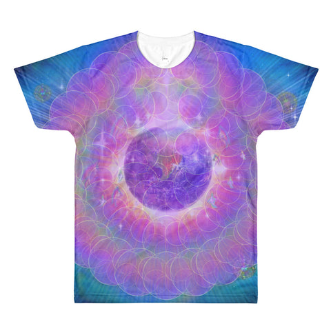 EarthLight - All-Over Printed T-Shirt