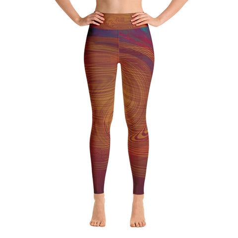 Fall Vortex - Yoga Leggings