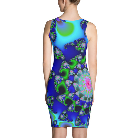 Mandalava (Fractal Art Dress)