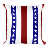 American - Square Pillow