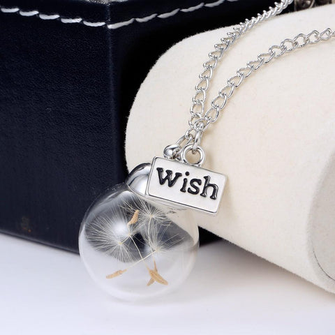 """Make A Wish"" Orb Necklace"