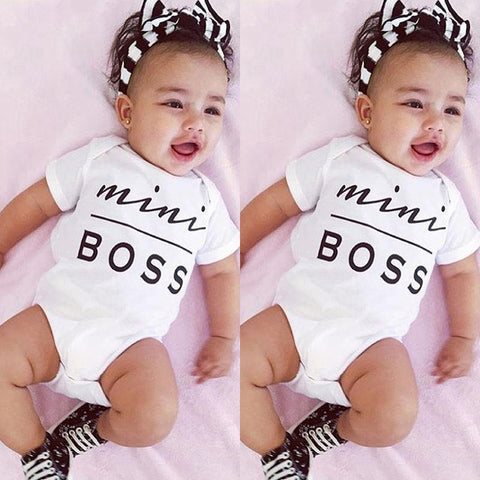 Newborn Infant MINI BOSS - Overalls