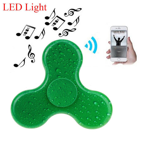 Bluetooth Speaker + LED + Fidget Spinner 3in1 SMART PHONE TOY