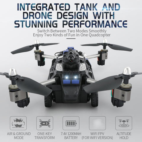 6 Axis Hover - Quadcopter Drone w/ 720 Camera