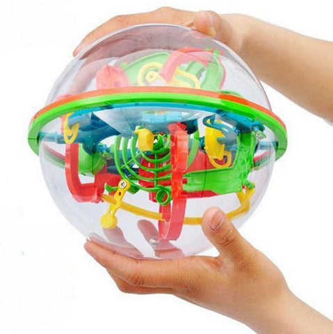 3D Magic Labyrinth Puzzle Marble Toy