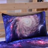 Galaxy Bedding (3D space print with pillow cases)