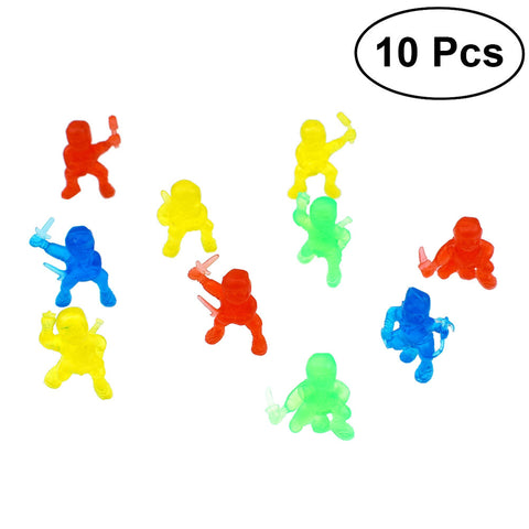 Neon Ninjas (10pcs Novelty Decoration / Toy)