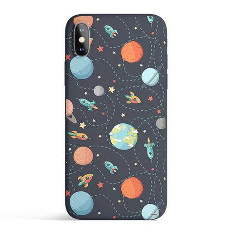 Space Case - Colored Candy Matte iPhone Case Cover
