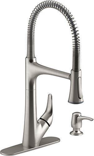 Kohler Lilyfield Vibrant Stainless 1-Handle Pull-Down Kitchen Faucet R27459-SD-VS