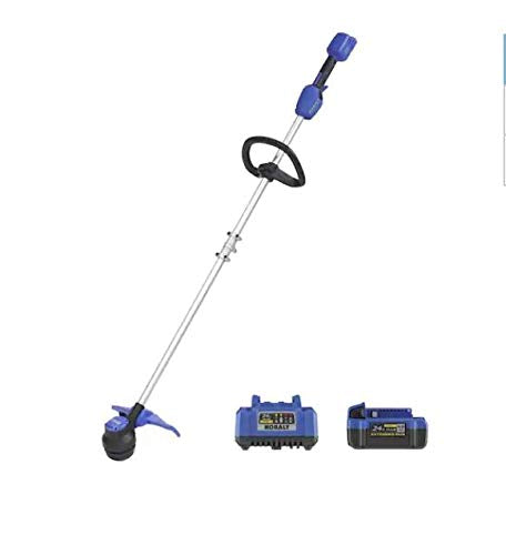KT Kobalt 24-Volt Max 12-in Straight Cordless String Trimmer (Battery Included)