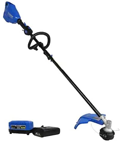 KT Kobalt 40-Volt Max 16-in Straight Cordless String Trimmer with Attachment Capable and (Battery Included)