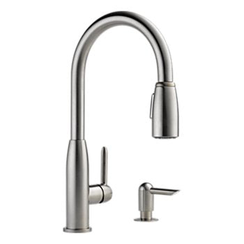 Peerless P88103LF-SSSD-L Classic Kitchen Single Handle Pull Down
