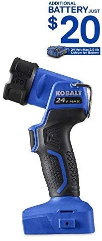Kobalt 200 Lumens Led Handheld Rechargeable Battery Flashlight
