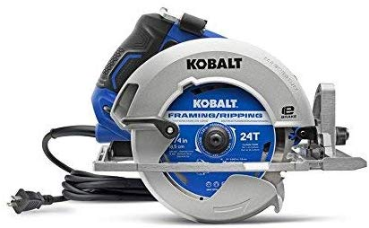 Kobalt 15-Amp 7-1/4-in Corded Circular Saw Brake