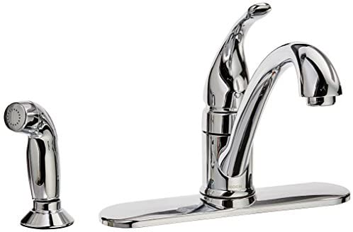 Moen CA87480 Kitchen Faucet with Side Spray from the Torrance Collection, Chrome