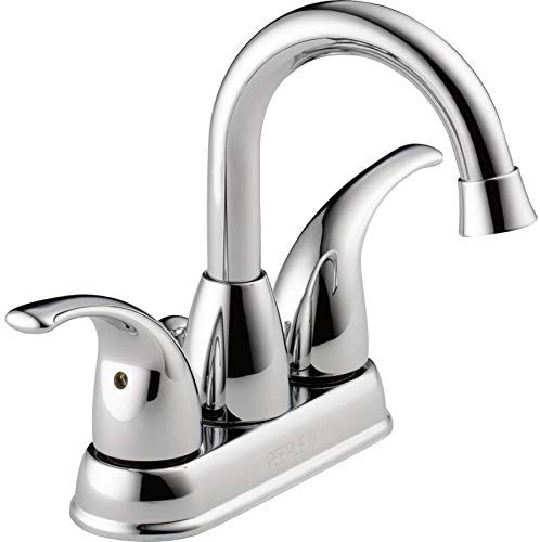 Peerless P99694LF-ECO Tempo Chrome 2-Handle 4-in Centerset Bathroom Sink Faucet