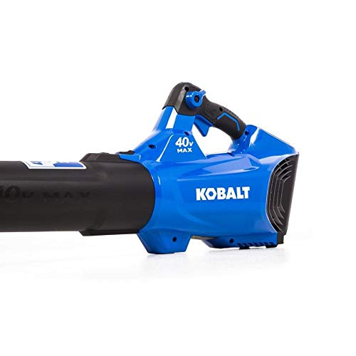 KT Kobalt 40-Volt Lithium Ion 480-CFM Brushless Cordless Electric Leaf Blower (Battery Included)