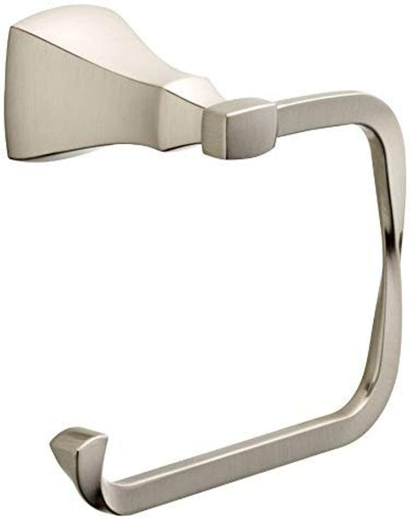 "DELTA FAUCET SAW50-SN Delta Sawyer Satin Nickel Toilet Paper Holder, 5.78"" x 3.18"""