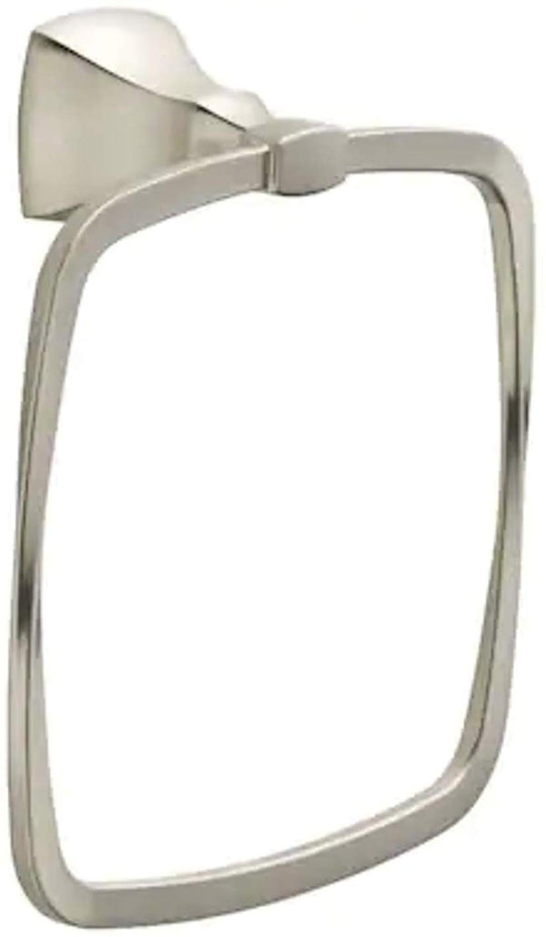 Delta Sawyer Satin Nickel Wall Mount Towel Ring