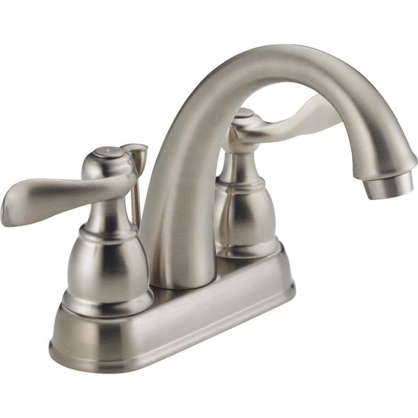 Delta Faucet B2596LF-SS Stainless Steel 2-Handle Lavatory Faucet