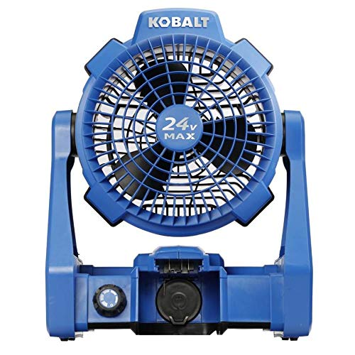KT Kobalt Hybrid 24-Volt Max Jobsite Fan (Battery Not Included)