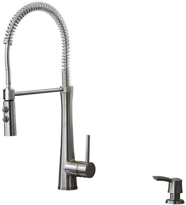 Giagni Fresco Stainless Steel Pull-Down Kitchen Faucet