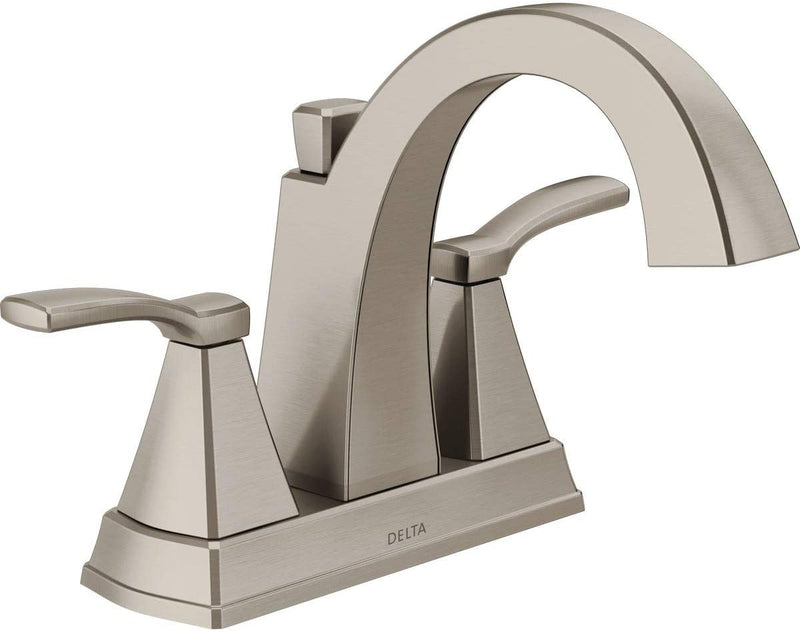 Delta Faucet 25768LF-SS Flynn Two-Handle Center set Bathroom Faucet, Brushed Nickel
