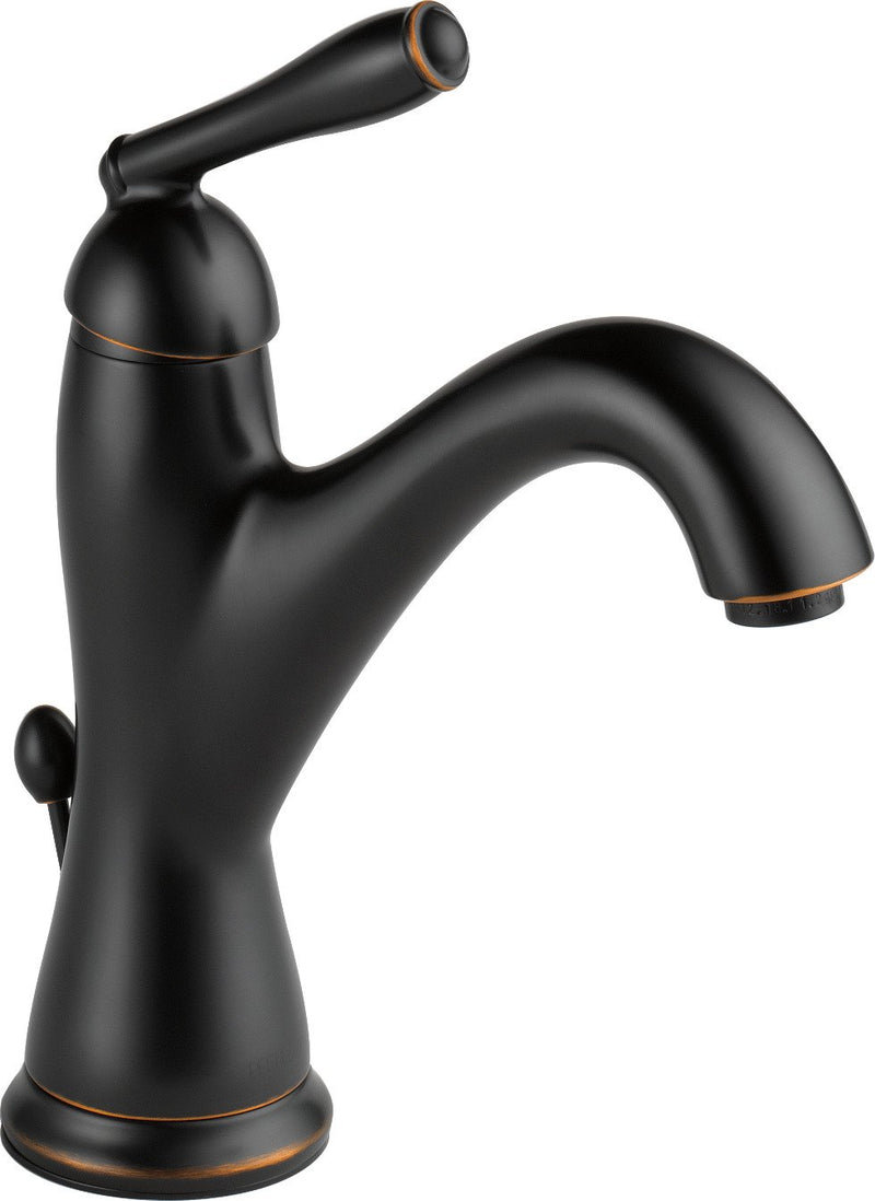 Peerless Single-Handle Centerset Bathroom Faucet with Drain Assembly, Oil Rubbed Bronze P188631LF-OB