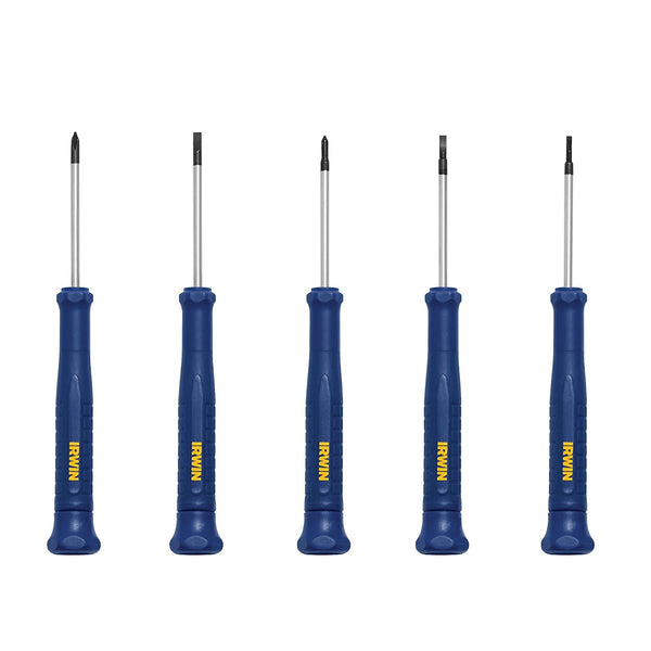 IRWIN Precision Screwdriver Set, 5 Piece (1949289)