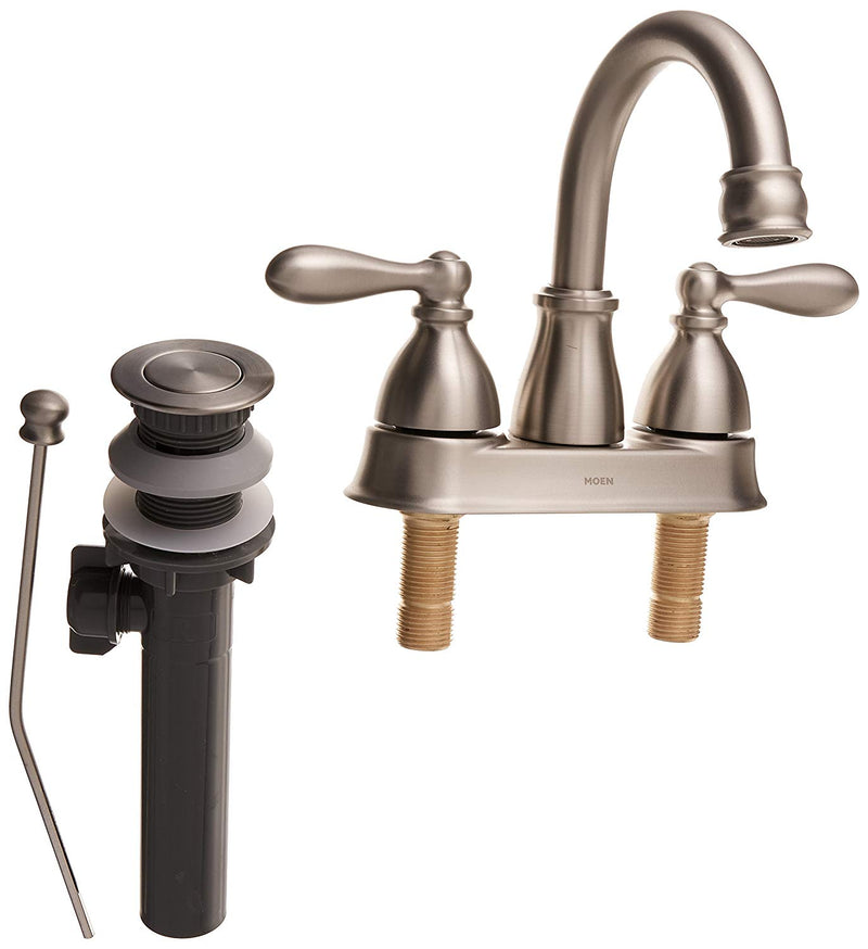 Moen Two-Handle High Arc Bathroom Faucet