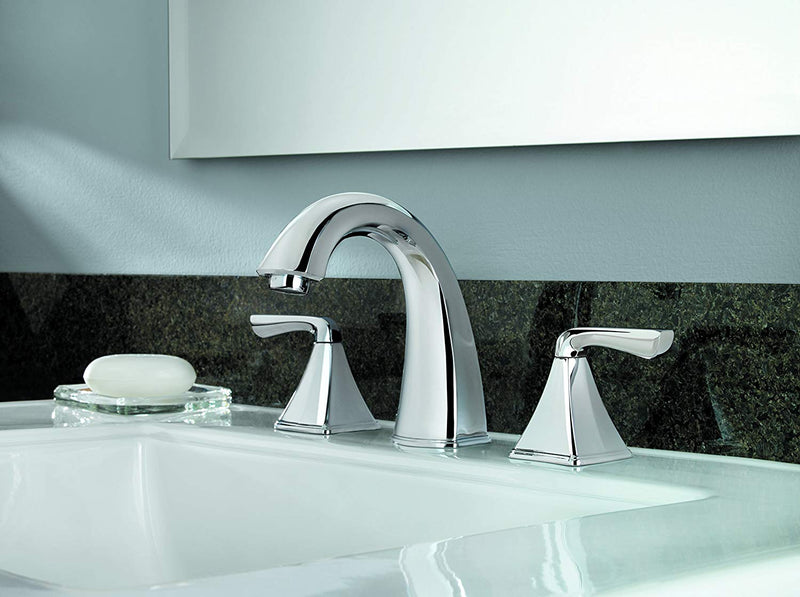 Pfister Selia Widespread Bathroom Faucet Polished Chrome LF-049-SLCC