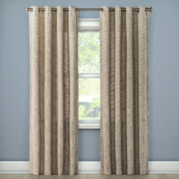 Lace Curtains And How To Clean Them Properly Textured Weave Window Curtain Panel U2014 Threshold At Target.com, $23.74