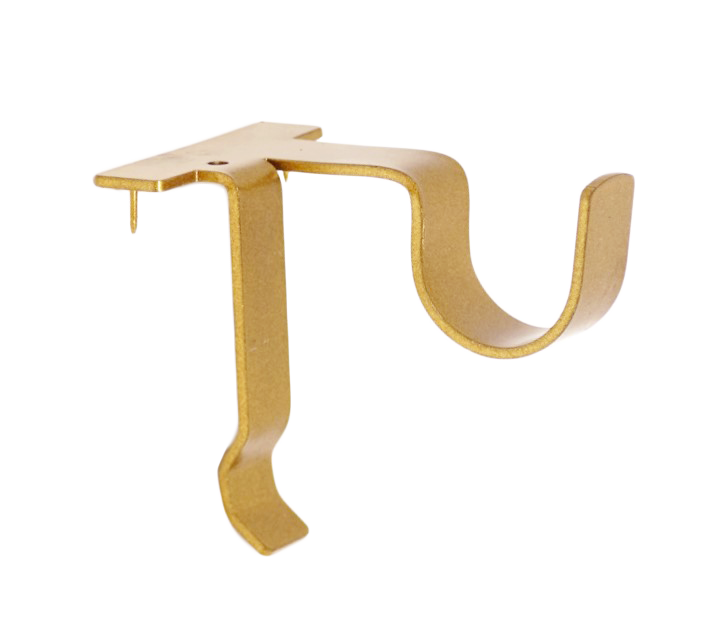 Center Support Curtain Rod Bracket (Single)
