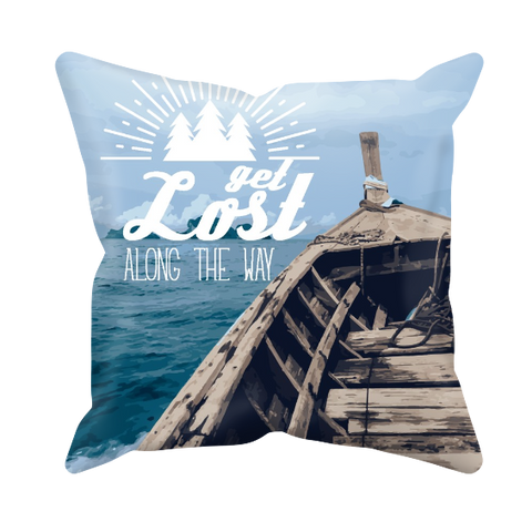 Get Lost Along the Way - Cushion Cover