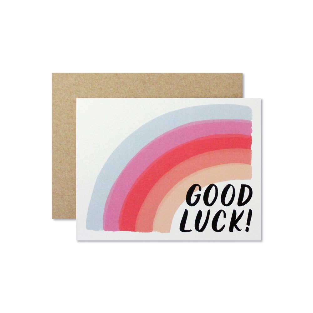 Wild Hart Paper - Good Luck Card