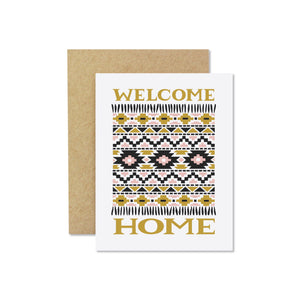 Wild Hart Paper - Welcome Home Card
