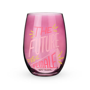 Blush - The Future is Female Stemless Wine Glass by Blush®