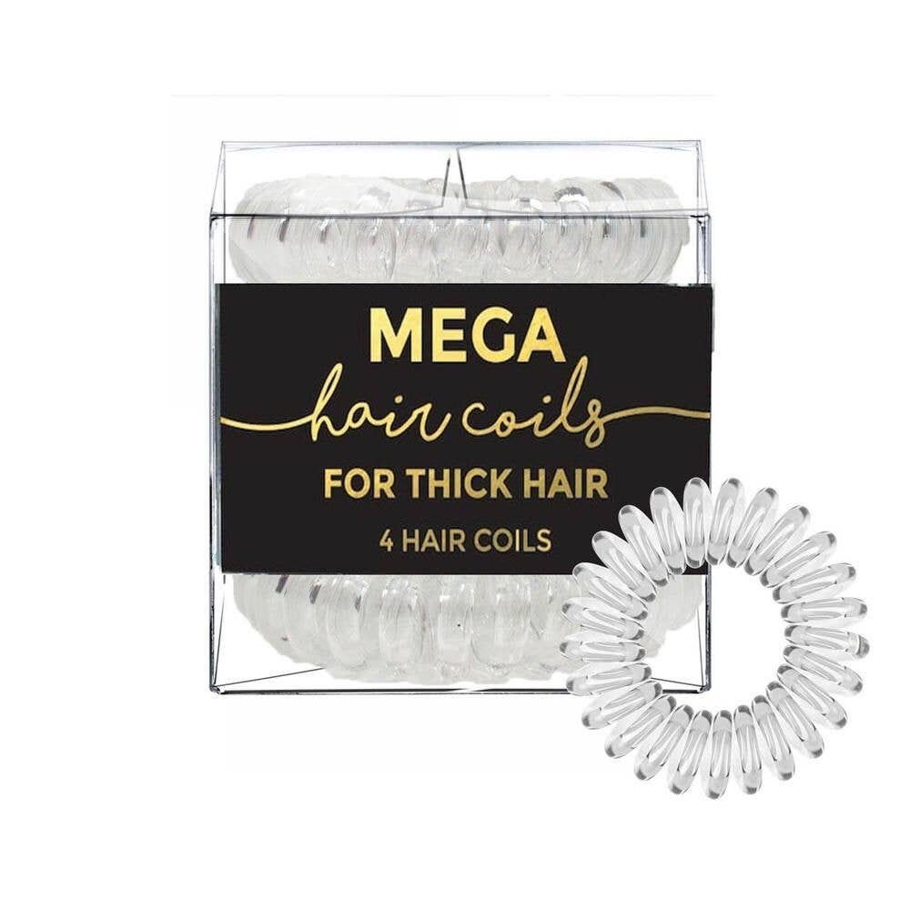 KITSCH - Transparent Mega Hair Coil