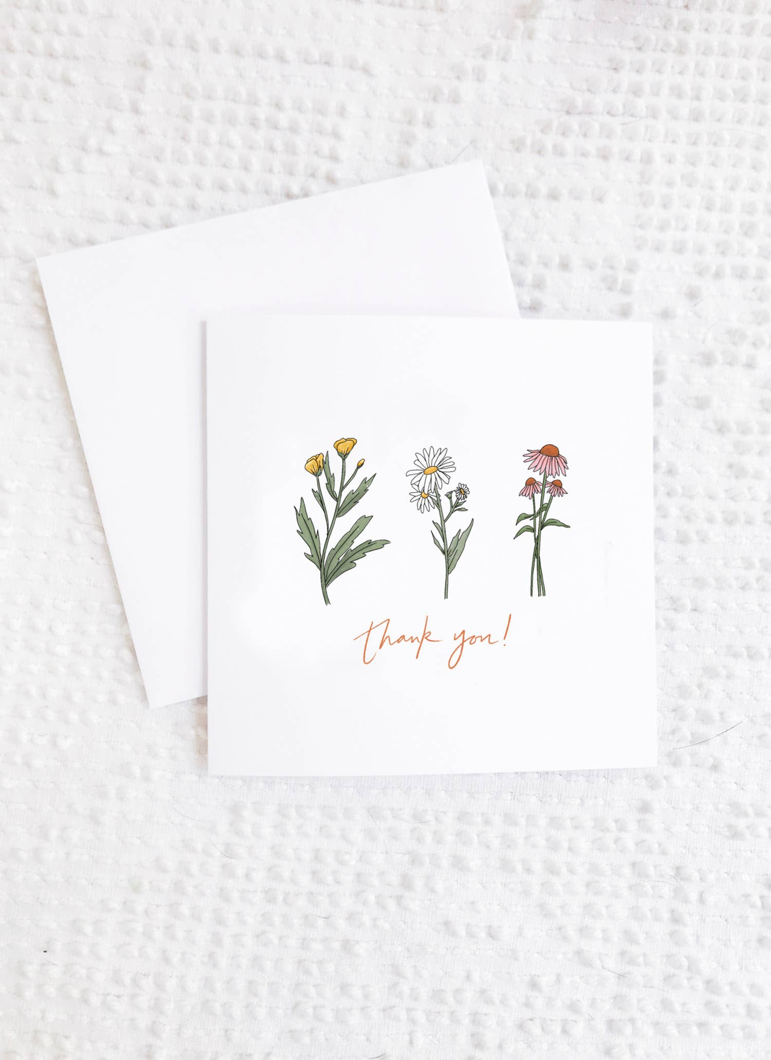 Maddon and Co - Wildflower Thank You Card