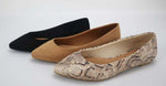 Carrie Flat 2.0 || Black, Toffee or Snake