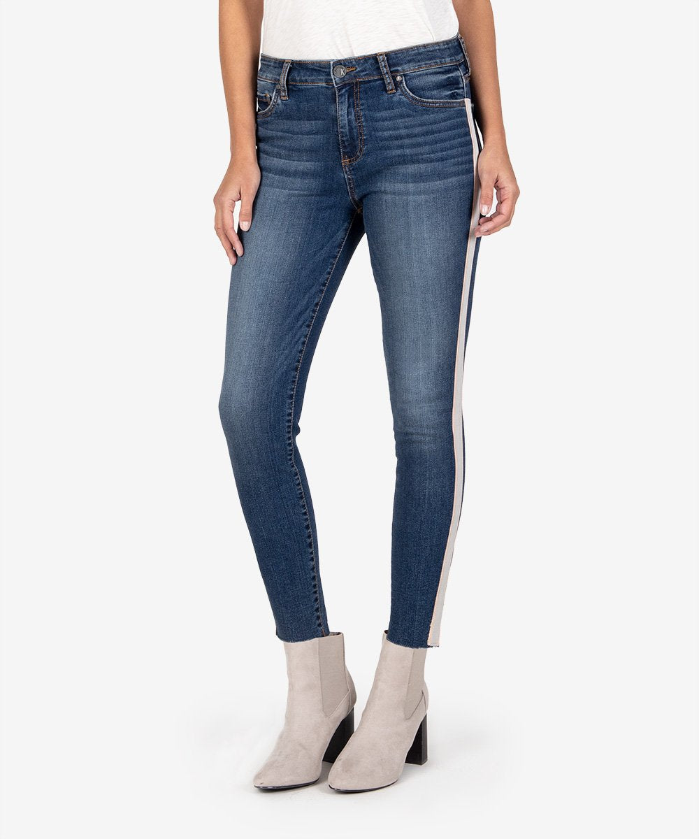 Kut From The Kloth || Donna High Rise Ankle Skinny in Adoring Wash