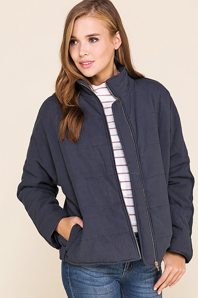 Cozy Up Quilted Coat
