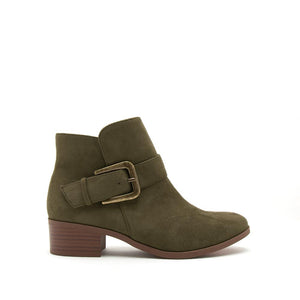 Bailey Buckle Boot || Coffee or Olive
