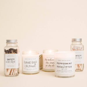 Sweet Water Decor - Bamboo Coconut Soy Candle